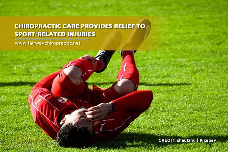 Chiropractic care provides relief
