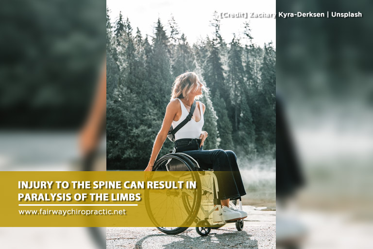 Injury to the spine