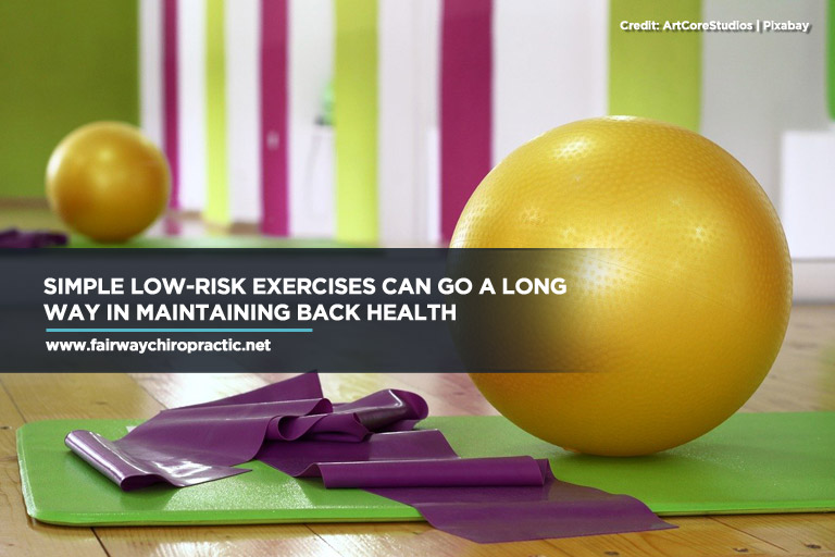 Simple low-risk exercises
