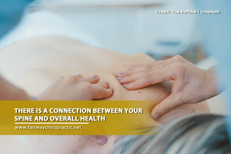 connection between your spine and overall health